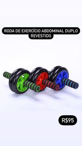 Roda pra exercícios musculação
