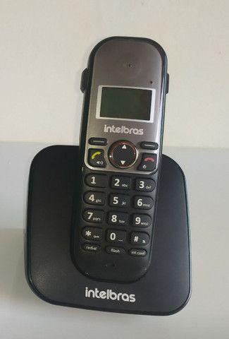 Telefone s/fio c/ identificador chamadas - Foto 2