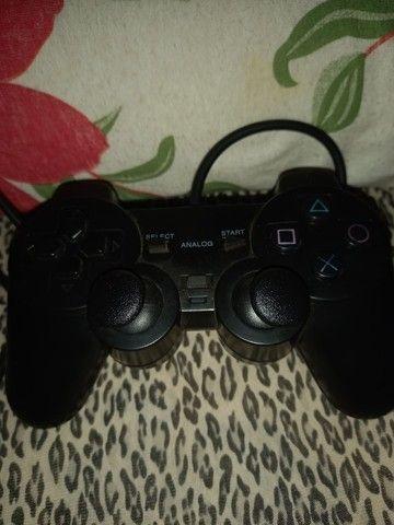 Controle de PS2 para retirada de peças - Foto 2
