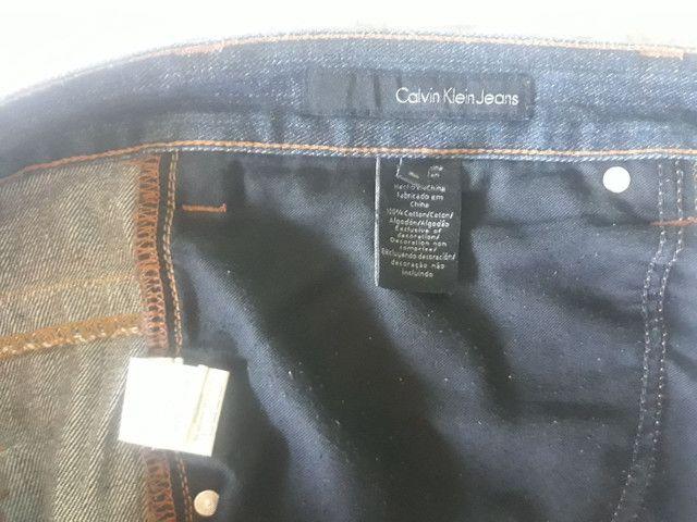 Calvin Klein Jeans Plus size 48 Masculina lindíssima. - Foto 4