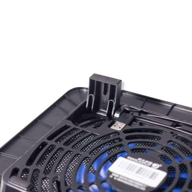 Base Com Cooler Para Notebook Coolcold Compacta - Foto 3