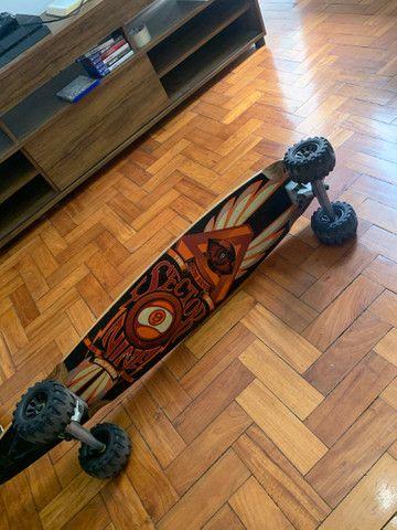 Long board Sector Nine com roda trator  - Foto 2