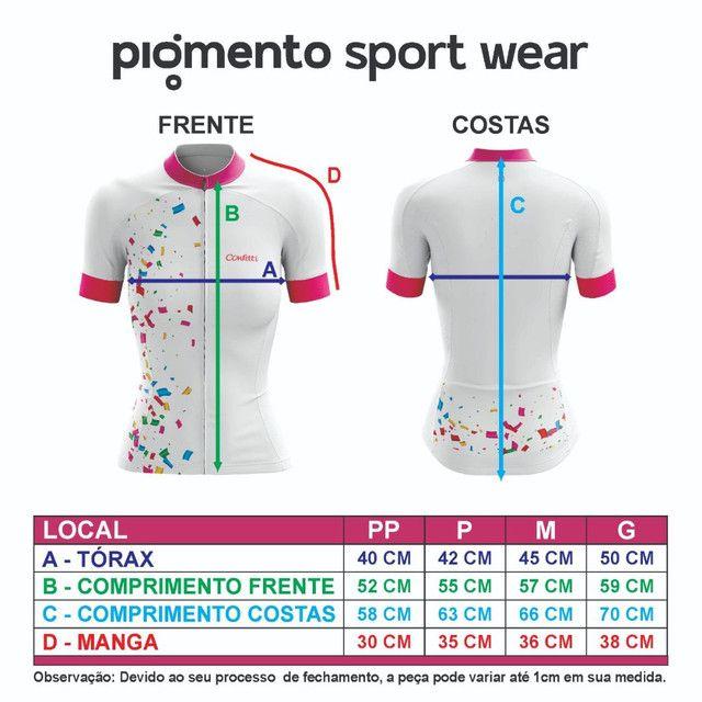 Camiseta Ciclismo Feminina  - Foto 4