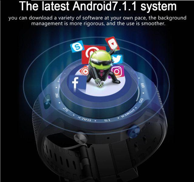 Smart Watch Lemfo LEM9 Relógio Inteligente Fitness - Foto 4