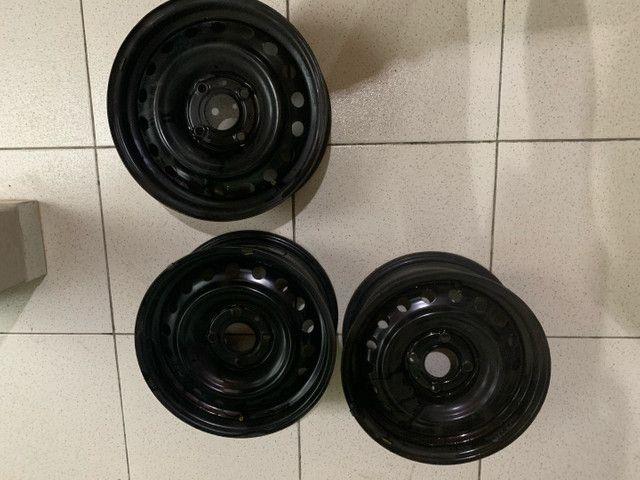 """Roda Aro 15"""" Nissan Sentra (Unidade)"""