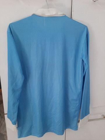 Camisa de Futebol Lazio Itália - Foto 2