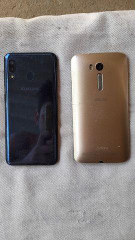 Samsung A20 e Asus zenfone selfie para retirar pecas - Foto 2