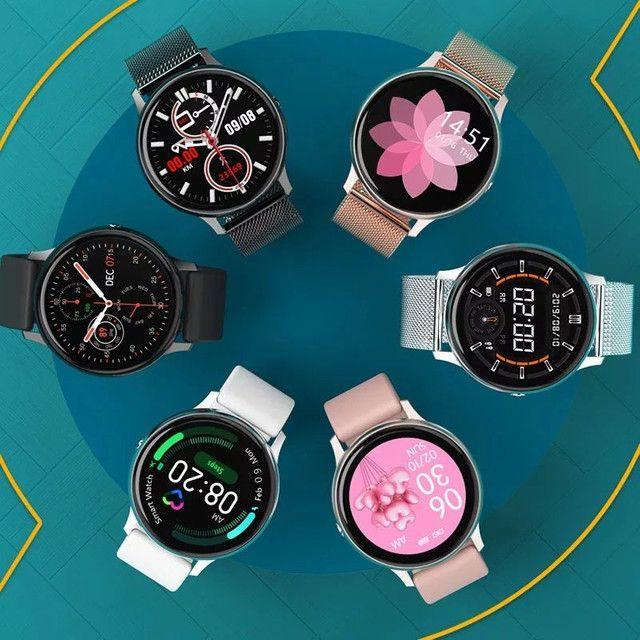 Relógio Inteligente Smartwatch Dt88 Pro Rosa Original - Foto 6
