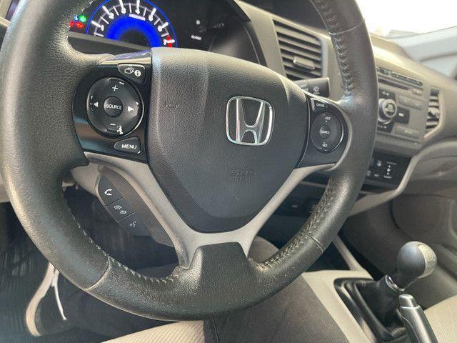 Honda Civic Lxs 1.8 flex manual 2014 Obs! Sem detalhes - Foto 12