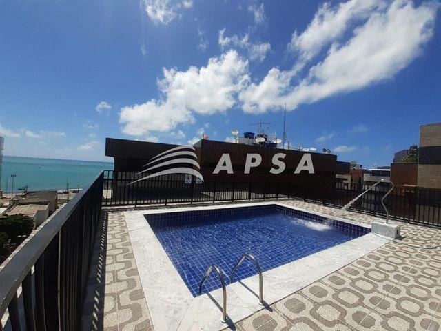 Apartamento para alugar com 1 dormitórios em Ponta verde, Maceio cod:32300 - Foto 9