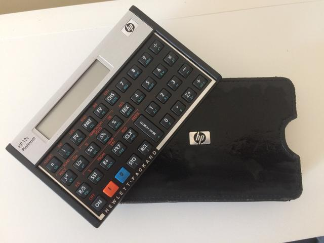 Calculadora HP 12C platinum