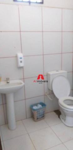 Galpão para alugar, 686 m² por r$ 12.000/mês - vila do dner - rio branco/ac - Foto 5