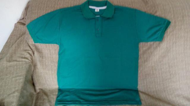 Camisas polo masculina e feminina - Foto 2