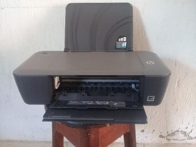 Impressora Deskjet Hp Usada, esta funcionando - Foto 3