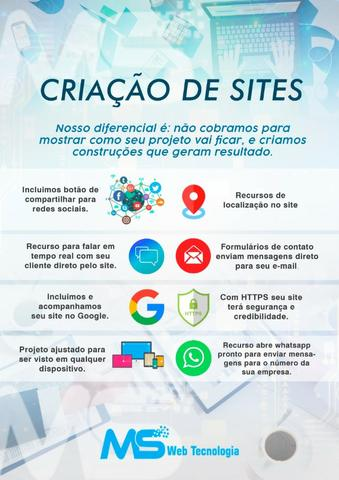 Criação de sites institucionais - Foto 5