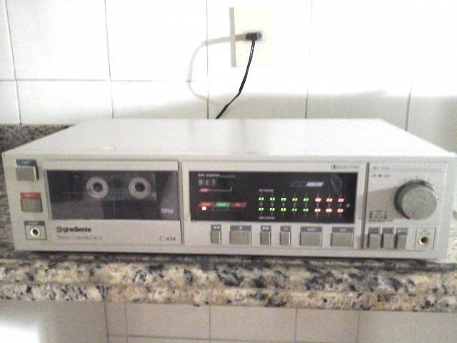 Vendo dois tape deck's em otimo estado e funcionando perfeitamente - Foto 2