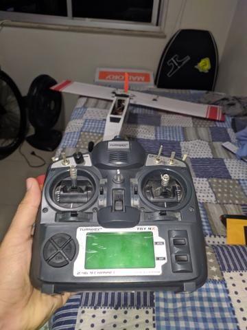 Rádio para Aeromodelo turnigy 9x completo