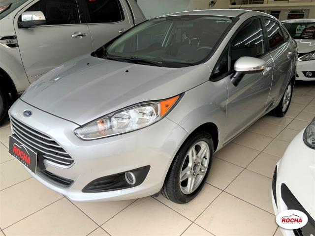 New Fiesta Sed 1.6 Sel Aut - Top - Ipva 2020 Pago - Garantia Ford - Leia o Anuncio! - Foto 3