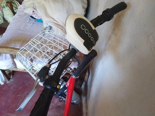 Bicicleta elétrica modelo raro - Foto 4