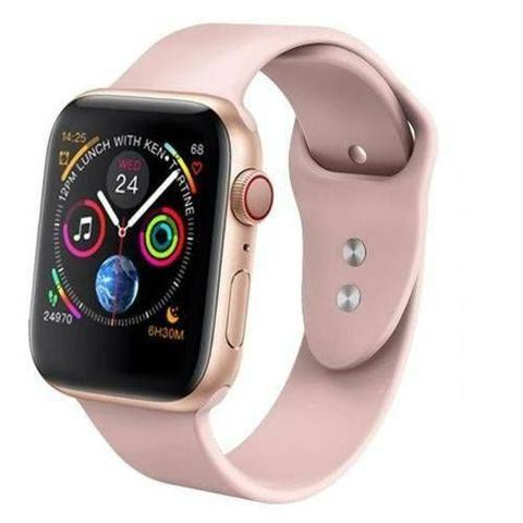 Relógio inteligente rose compatível para iPhone Samsung - Foto 2