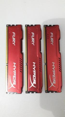 Memória RAM 4gb ddr3 Hyperx 1600mhz