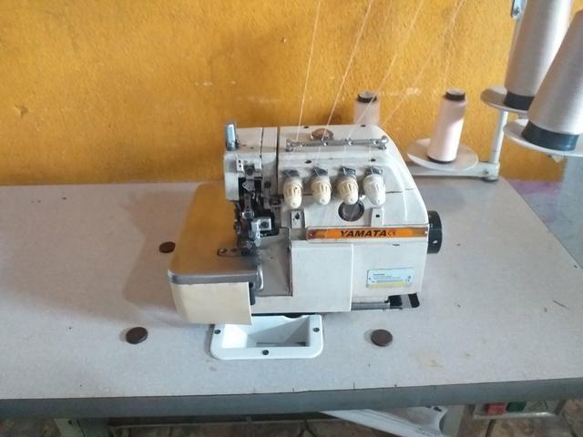 Maquinas de costura Reta é overlok ponto cadeia - Foto 6