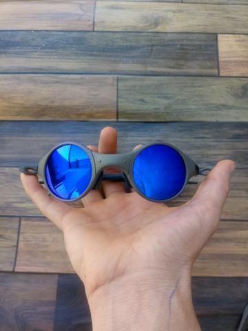 1c4f64d26 Oculos Oakley Mars Medusa X-metal Azul top - Bijouterias, relógios e ...