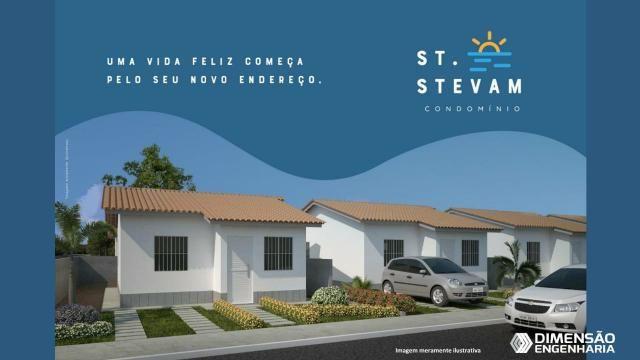 Condomínio St Stevam, são casas