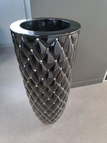 Vaso cachepôs 92cm altura por 36cm diametro - Foto 3