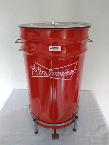 Lixeiras Cervejeiras metálicas personalizadas 60 litros - Foto 4
