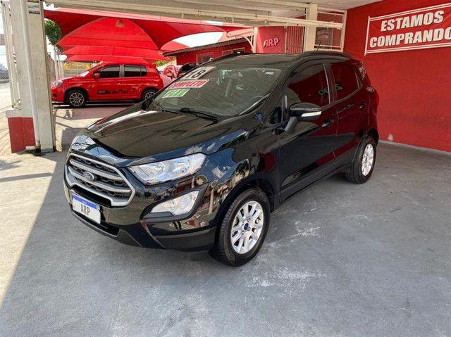 Ford EcoSport  se 1.,5 preta flex 2018 com multimidia - Foto 3