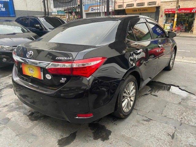 Toyota Corolla XEi 2.0 Aut + couro + gnv + multimídia - Valor real sem pegadinhas! - Foto 4