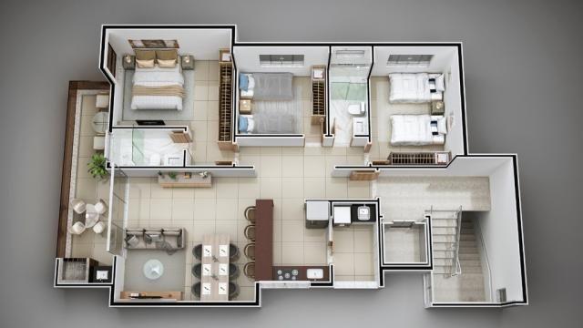Apartamento à venda com 3 dormitórios em Cidade nobre, Ipatinga cod:941 - Foto 2