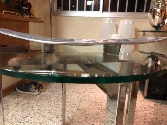 Centro de mesa de jantar em inox - Foto 3