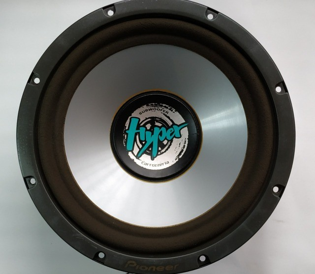 Subwoofer Pioneer Carrozzeria Hyper Ts-wx3000a Made In Japan raro