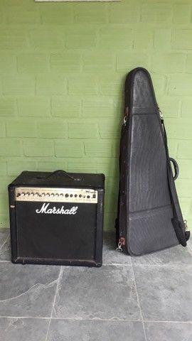 Amplificador de Guitarra Marshall MG 50 DFX - Foto 6