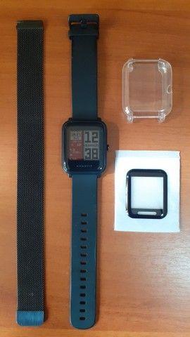 Smartwatch Xiaomi Amazfit Bip A1608 Wifi/Bluetooth/Gps Preto - Foto 2
