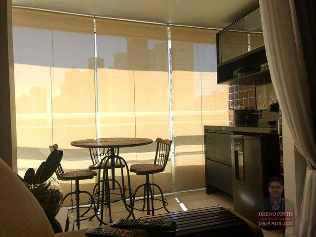 Apartamento no Mareés Residence Meireles com 2 dormitórios à venda, 73 m² por R$ 650.000 - - Foto 15