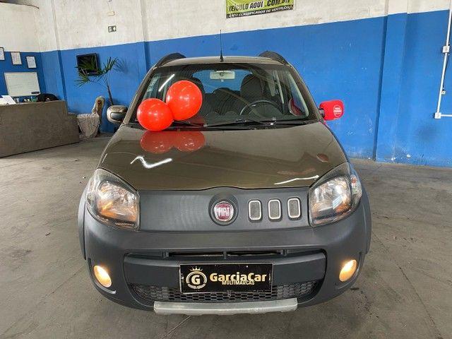 Fiat uno 1.0 way completo placa i  * 70.000 km impecável  - Foto 2