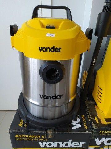 Aspirador de pó Vonder 1.000w uso profissional