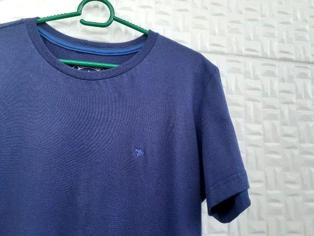 Camisetas básicas Azul e Preta - Tam P