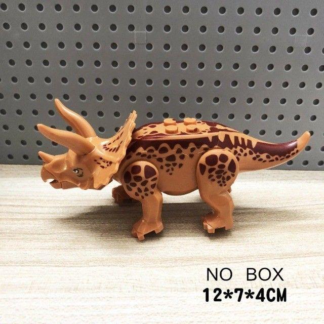 Lego compativel Dinossauros Jurassic Park 8 pçs Lindo Presente Criança Coleção - Foto 5