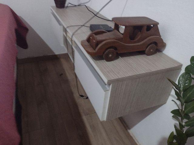 Carro para decoração em pura madeira - Foto 2