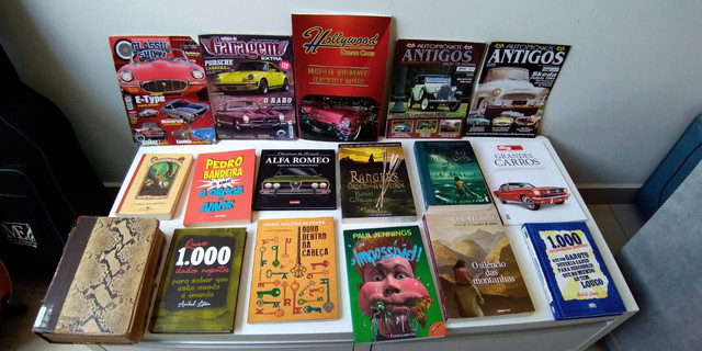 Vendo os livros listados acima