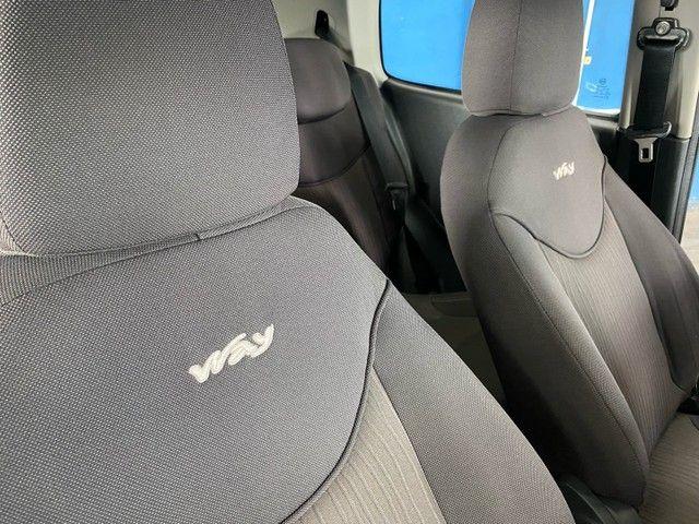Fiat uno 1.0 way completo placa i  * 70.000 km impecável  - Foto 7