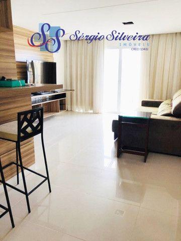 Apartamento no Porto das Dunas vista mar com 3 quartos pé na areia Beach living  - Foto 8