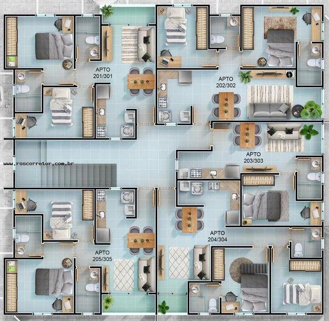 Apartamento para Venda em João Pessoa, Mangabeira, 2 dormitórios, 1 suíte, 1 banheiro, 1 v - Foto 5