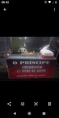 Carro de churrasco na chapa 1.300 - Foto 2