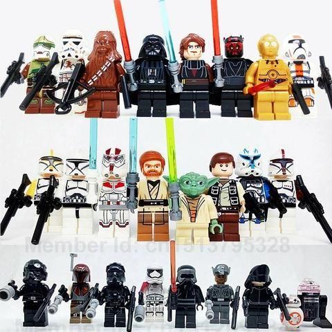 Lego heróis,jurássico e starwars - Foto 5