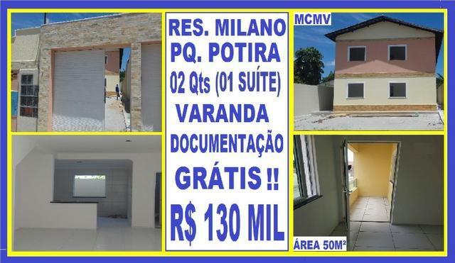 Ve. Potira \ Apartamentos pronto pra financiar com toda documentação paga pela construtora